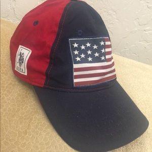 VTG U.S. POLO ASSN. EST 1890 U.S.A 3 Hat Cap
